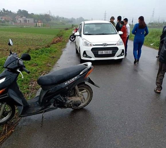 Phú Thọ: Chặn xe ô tô, đập vỡ cửa kính đâm chết nữ tài xế - 1