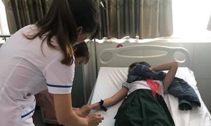 Quảng Nam: 19 học sinh tiểu học ngộ độc do uống trà sữa trân châu
