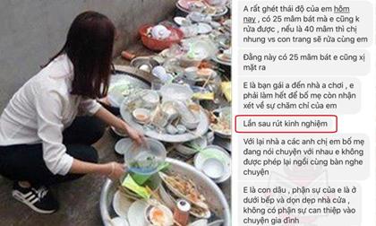 Thanh niên nhắn tin mắng bạn gái: 'Phận sự của em là ở dưới bếp và dọn dẹp nhà cửa'
