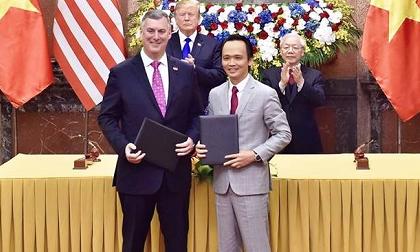 """Đại gia FLC ký thương vụ 3 tỷ USD với Mỹ, cổ phiếu ngay lập tức """"gây bão"""""""