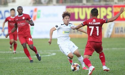 Bầu Đức và HLV Park Hang-seo dự khán, HAGL thua sốc CLB TP.HCM