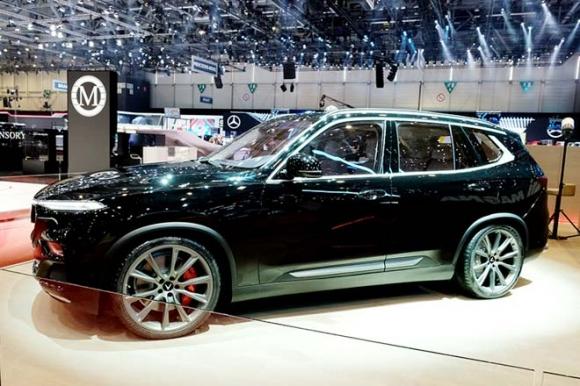 Mẫu SUV VinFast lắp động cơ V8 bất ngờ xuất hiện tại triển lãm Geneva Motor Show 2019 - 1