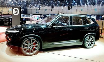 Mẫu SUV VinFast lắp động cơ V8 bất ngờ xuất hiện tại triển lãm Geneva Motor Show 2019