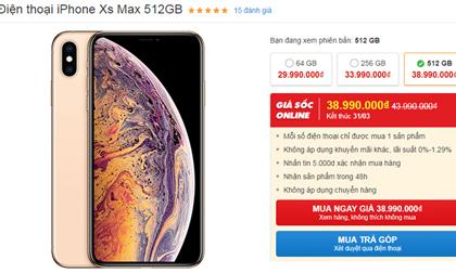 """Top smartphone giảm giá """"sốc"""" nhất tháng 3"""