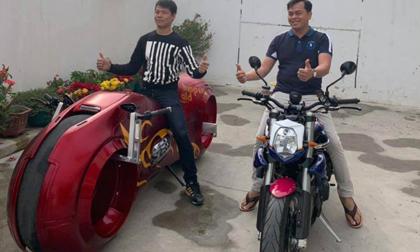 CHOÁNG: Lộ diện siêu môtô giá 10 tỷ đồng của Phúc XO?