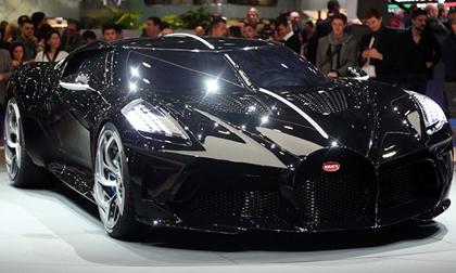 Choáng với siêu xe đắt nhất thế giới Bugatti giá gần 19 triệu USD