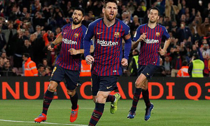 Nhẹ nhàng ẵm trọn 3 điểm, Barcelona tiếp tục bỏ xa thành Madrid