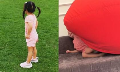 Con gái Tăng Thanh Hà lộ mặt trong clip chơi đùa cùng mẹ, nói tiếng Anh cực dễ thương