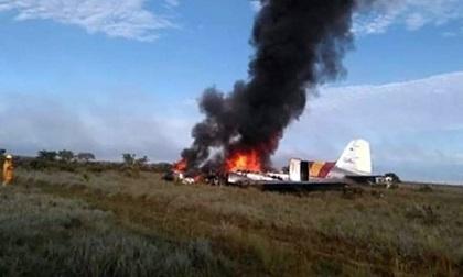 Nguyên nhân ban đầu máy bay rơi tại Colombia khiến 12 người thiệt mạng