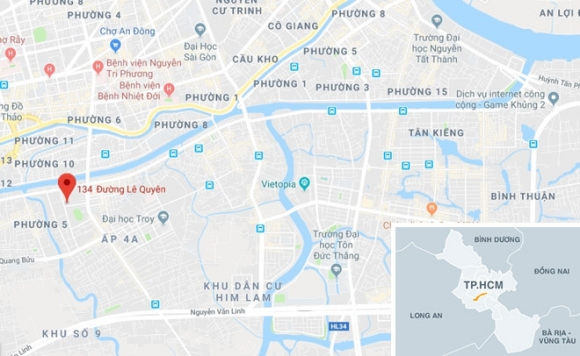 4 xe máy cháy trơ khung trong tiệm sửa xe ở Sài Gòn