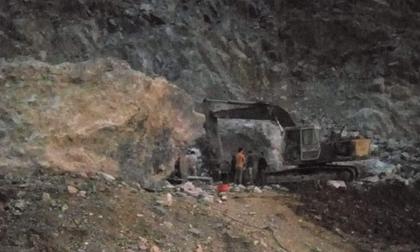 Cao Bằng: Sạt lở mỏ đá Phia Viềng, 2 người tử vong