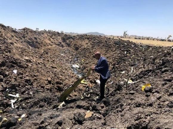 Ethiopia tuyen bo quoc tang sau vu tai nan may bay kinh hoang hinh anh 1