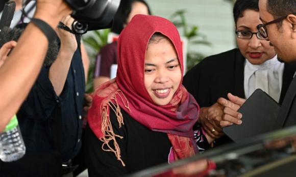 Phien toa xu Doan Thi Huong: Bi cao Indonesia duoc tha hinh anh 1