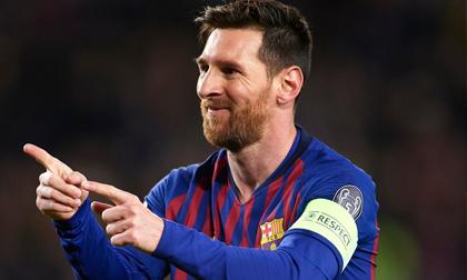 Messi thăng hoa, Barca vùi dập Lyon 5-1