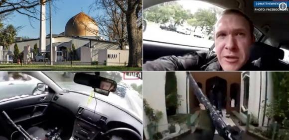17 phút phát trực tiếp cảnh xả súng khiến 60 người thương vong ở New Zealand - 1