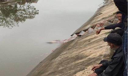 Nam Định: Tá hỏa phát hiện thi thể người phụ nữ nổi trên sông Đào