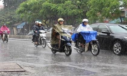 Dự báo thời tiết 19/3: Hà Nội mưa rào