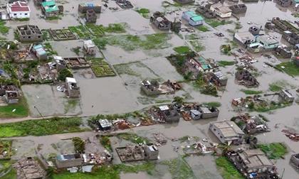 LHQ: Siêu bão Idai tệ nhất lịch sử Nam bán cầu, lũ lụt sâu tới 6 mét