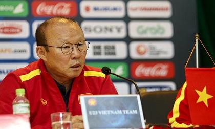 HLV Park Hang-seo: 'Phong độ là điều đáng lo nhất với U23 Việt Nam'