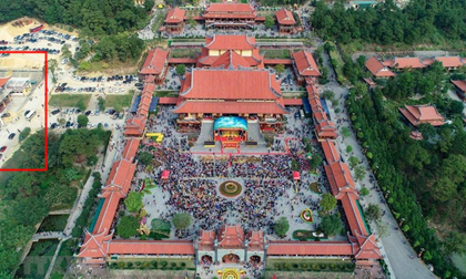 Cận cảnh nơi thỉnh vong, giải nghiệp tại chùa Ba Vàng