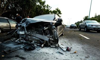 Khởi tố tài xế uống rượu, lái xe tông chết 2 người trên đường cao tốc