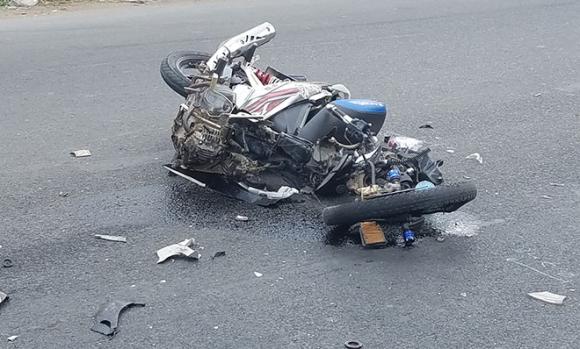 Ám ảnh hình ảnh chiếc mũ bảo hiểm trong vụ tai nạn 2 vợ chồng tử vong - 2