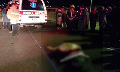 Đứng xem tai nạn giao thông, ít nhất 32 người bị xe tải tông chết