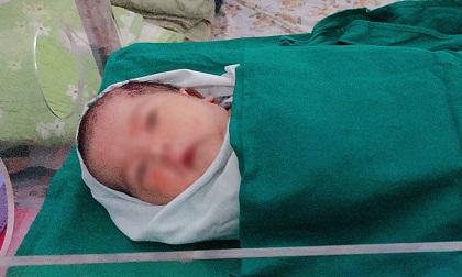 Bé sơ sinh được cứu nhờ tiếng khóc bên vệ đường