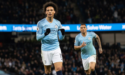 Man City đòi lại ngôi đầu Ngoại hạng Anh từ tay Liverpool