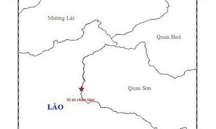 Động đất 3,8 độ richter ở Thanh Hóa