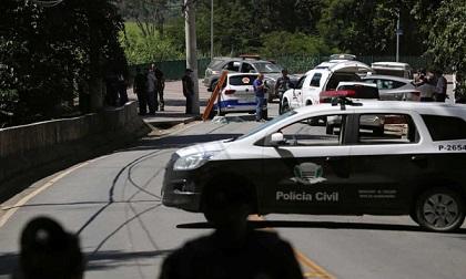 Cảnh sát Brazil truy đuổi, bắn gục 11 thành viên băng cướp ATM