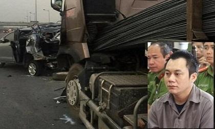Gia hạn tạm giam tài xế xe container đâm Innova lùi trên cao tốc