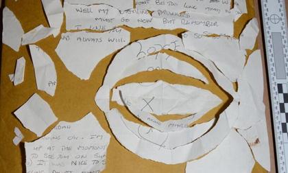 Thi thể người phụ nữ bên bức thư tình bị xé toạc lật tẩy tội ác của gã trai lụy tình