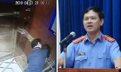 Ông Nguyễn Hữu Linh tiếp tục phủ nhận hành vi sàm sỡ bé gái trong thang máy