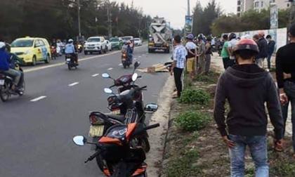Nữ công nhân bị xe bồn kéo lê 20m, tử vong thương tâm
