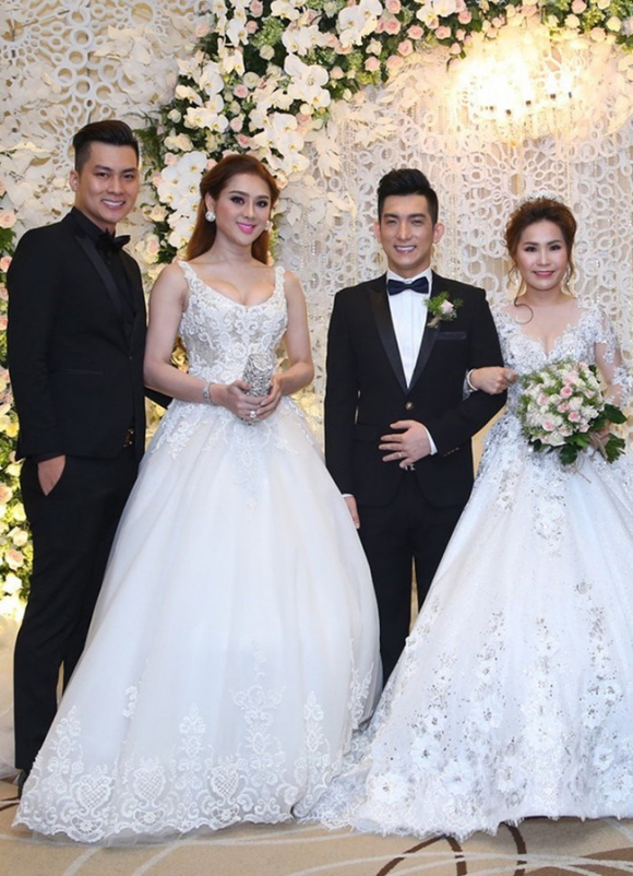 Bức ảnh cưới gây tranh cãi cả ngày vì không phân biệt được ai là cô dâu, thân phận thật sự của họ mới gây bất ngờ