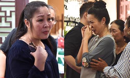 Hồng Vân và dàn sao Việt khóc nức nở tại lễ viếng cố NS Anh Vũ