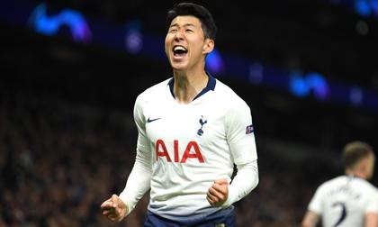 Son Heung Min tỏa sáng, Tottenham đả bại Man City