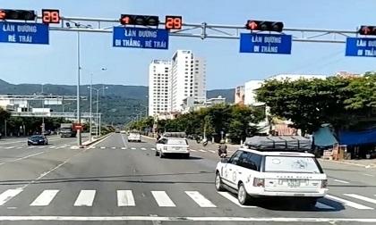 Đoàn xe của Trung Nguyên vượt đèn đỏ bị tước bằng lái