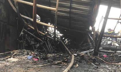Hiện trường vụ cháy kinh hoàng 8 người chết và mất tích