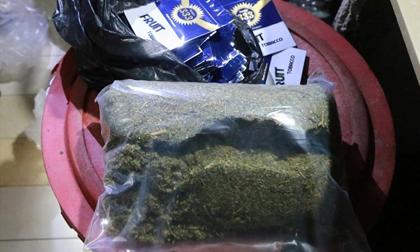 Triệt xóa cùng lúc 6 tụ điểm chuyên cung cấp cỏ Mỹ cho con nghiện