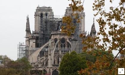 Đám cháy ở nhà thờ Đức Bà Paris đã tắt sau 8 tiếng đồng hồ