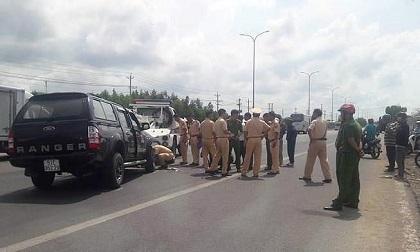 Đại úy CSGT bị tài xế xe 'điên' ép xe ngã đã qua đời