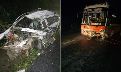 Tai nạn trên đường Hồ Chí Minh: 2 người tử vong tại chỗ
