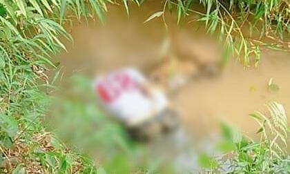 Thanh niên tử vong trong tư thế úp mặt dưới hố nước cạnh nghĩa trang