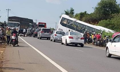 Đối tượng chặn xe đánh người gây tai nạn trên QL20 ra đầu thú