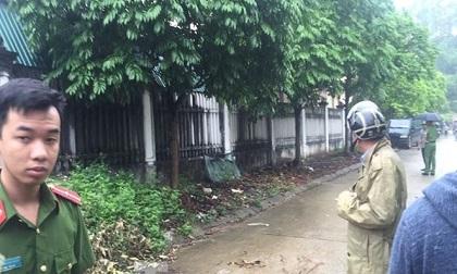 Hãi hùng phát hiện thi thể cháy đen gần khu chung cư