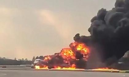 Cháy máy bay Nga Superjet 100 khiến 41 người chết: Nguyên nhân do đâu?