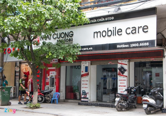 Them mot cua hang cua Nhat Cuong Mobile mo cua don khach hinh anh 1
