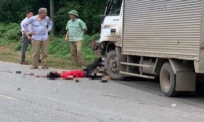 Xe máy tông trực diện xe tải, nam thiếu niên tử vong, thiếu nữ trọng thương